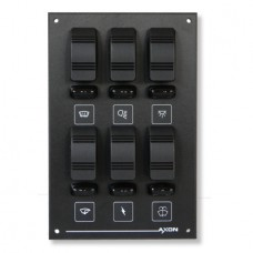 6 (2x3) Way Switch / Fuse Panel