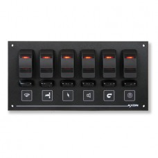 6 Way Illuminated Switch / Fuse Panel